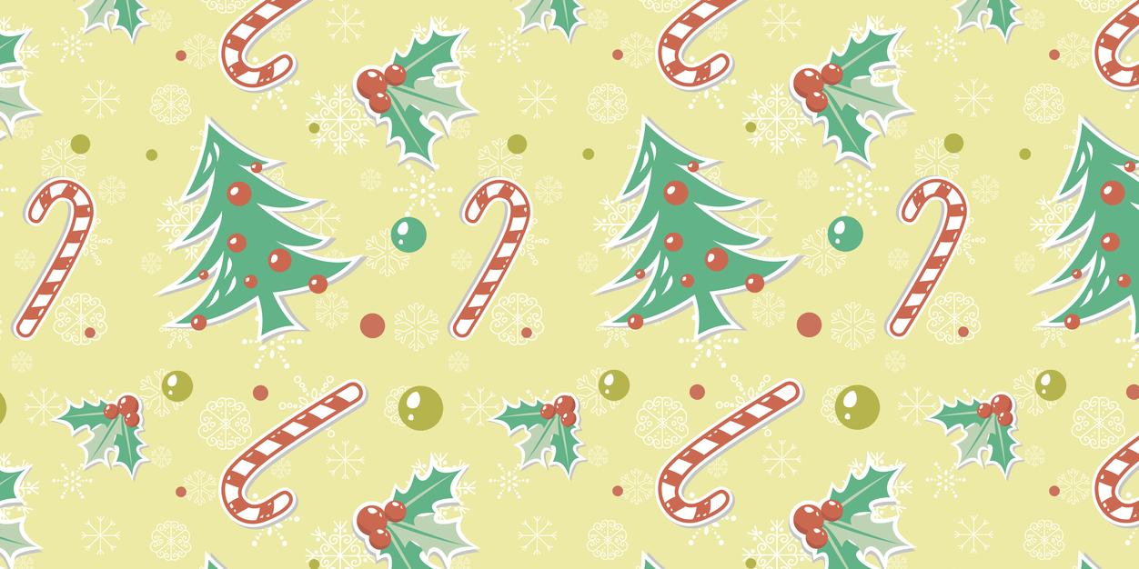 Pin Santa Free Twitter Background on Pinterest