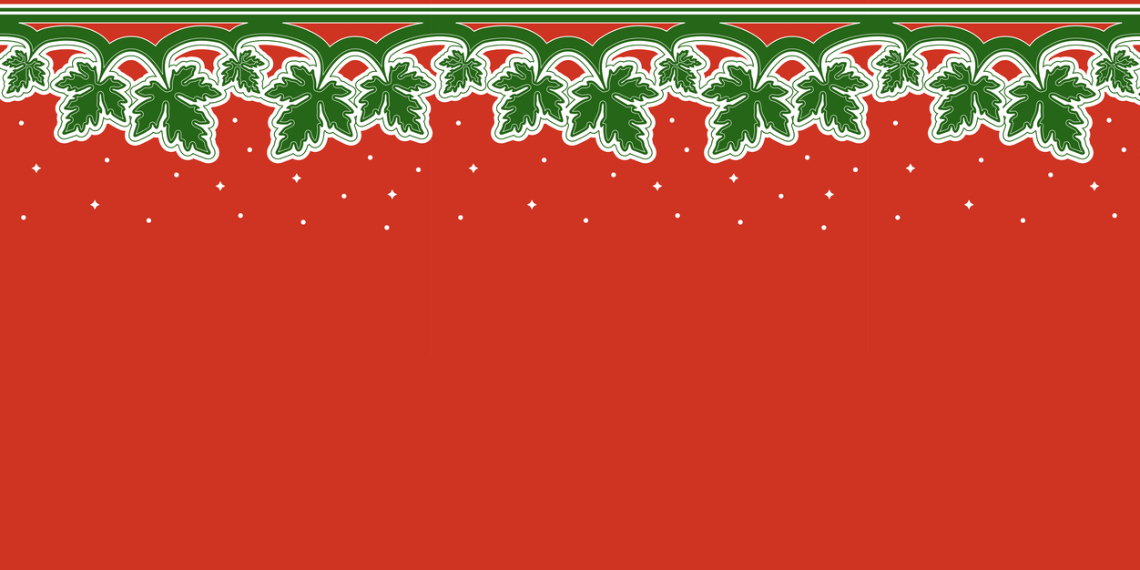 christmas pattern twitter header red and green