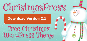 Download ChristmasPress - free WordPress theme