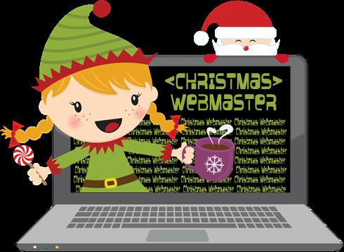 Christmas Webmaster Logo